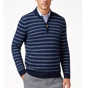 Tasso Elba Navy Sweater